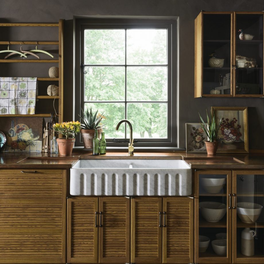 A star sink Upgrading The Latest Rustic Designs That Perfect For Rural And Urban Home Setting