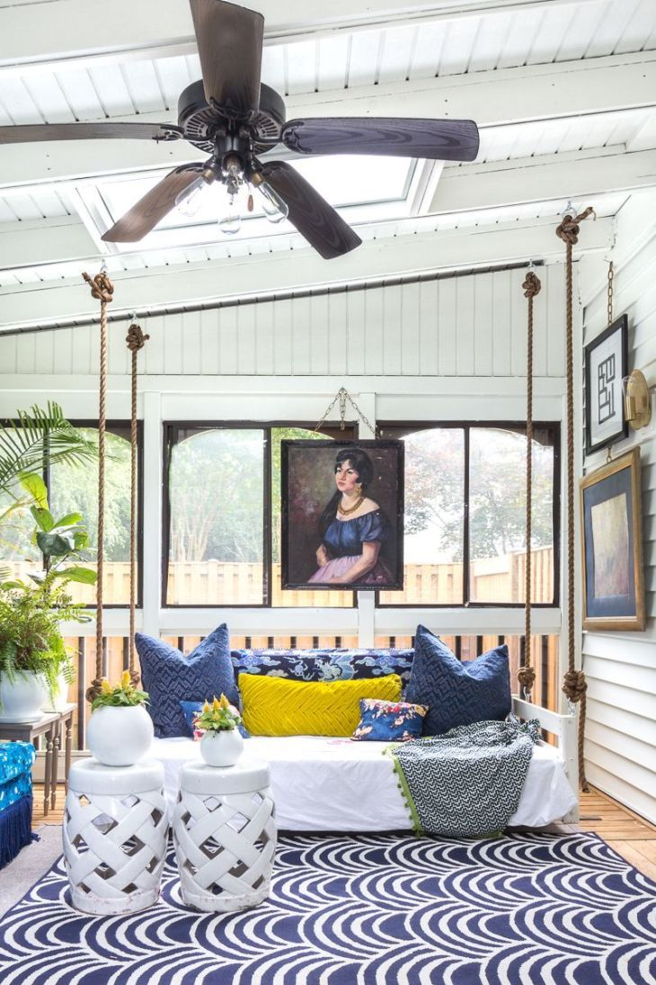 Maximalist sunroom Fantastic Sunroom Ideas To Soak Up The Sunlight For Your Most Enjoyable Spot At Home