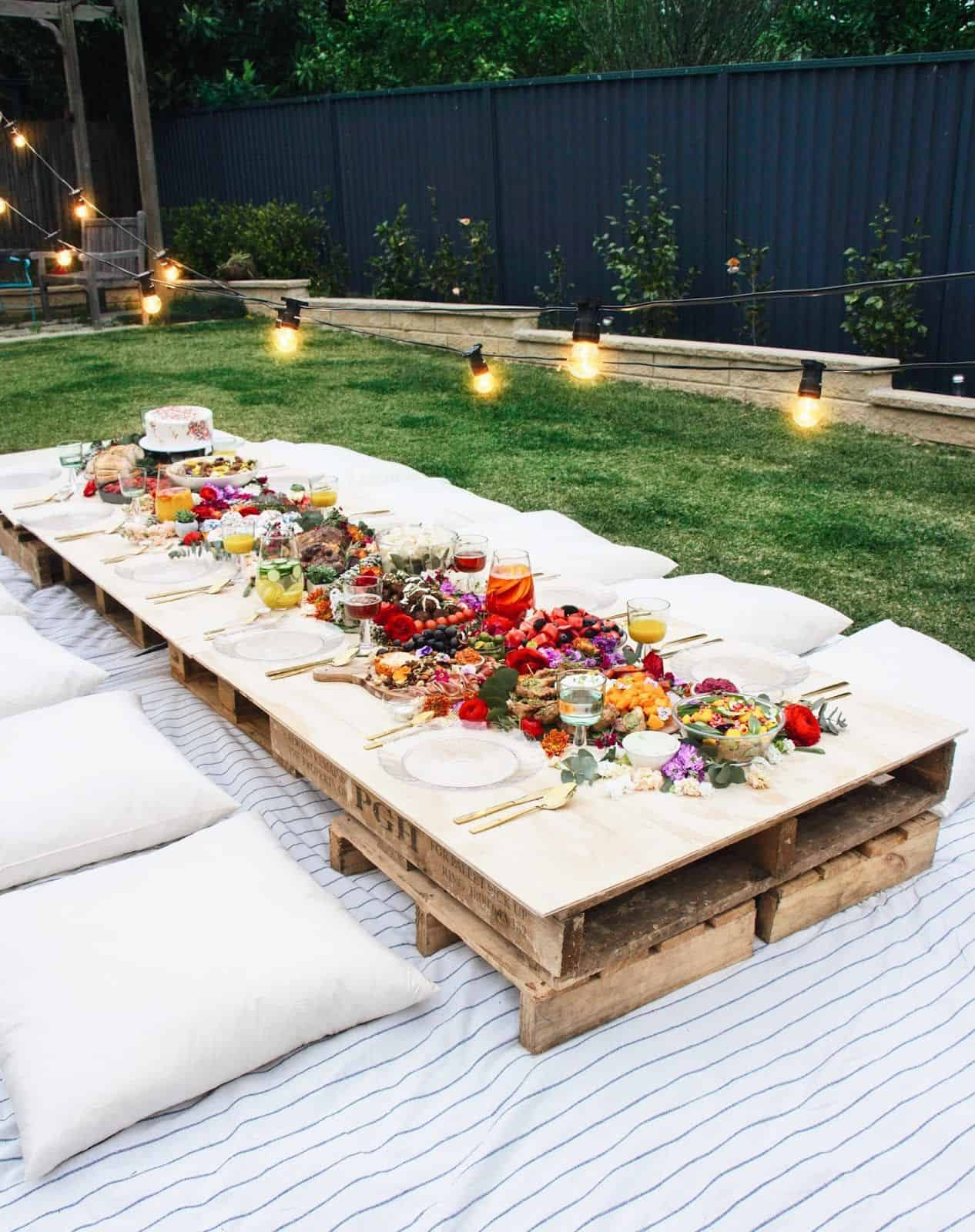 Embracing Summer Garden Party Ideas To Invite People Happiness In A Warmer Weather