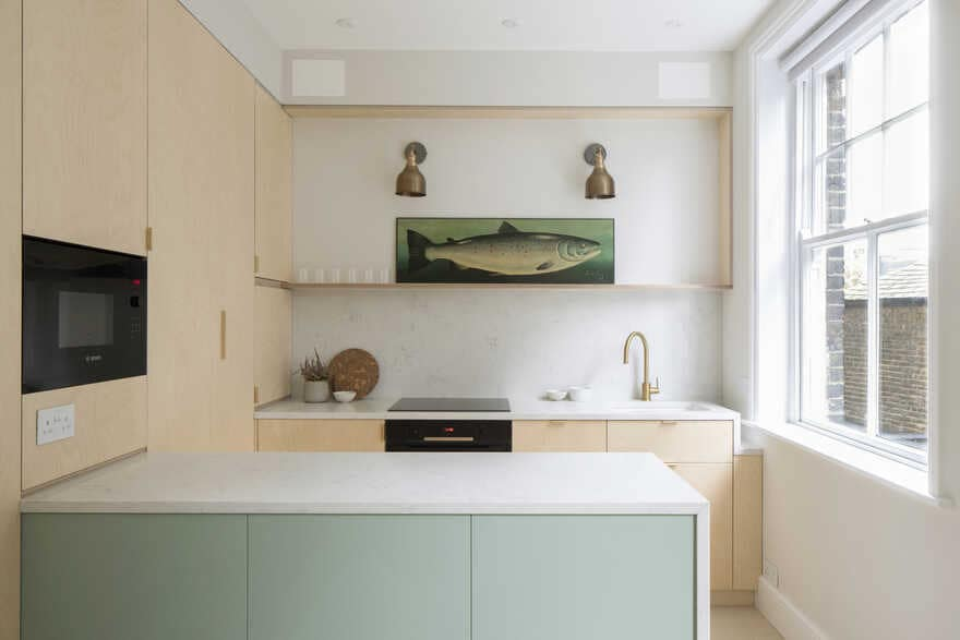 Tiny Apartment For A Single Woman That Simple But Comfy With Pastel Colors