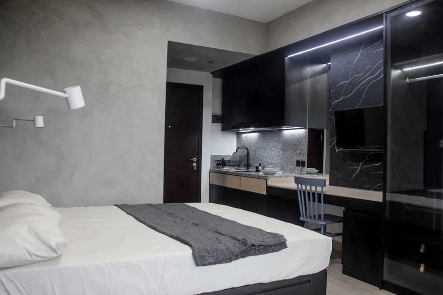 Cool Student Aparment With Study Areas That Looks So Warm And Cozy
