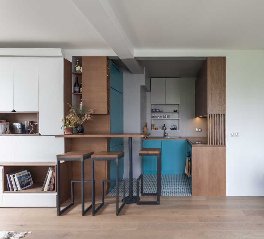 Home For A Young Man That Done In A Minimalist Style For Comfy Living