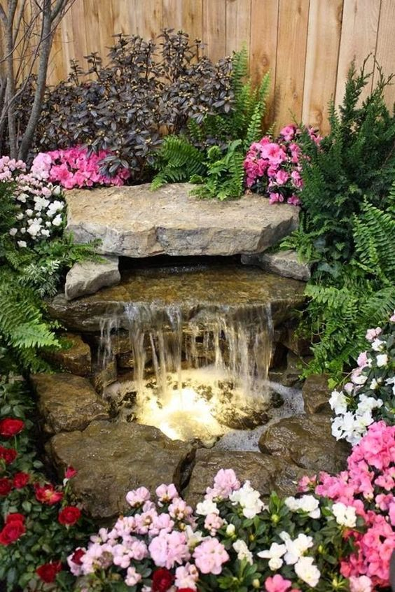 10 Water Fountain Ideas To Improve Your Garden Look