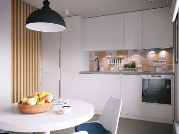 Lovely-little-kitchen-with-a-backsplash-that-adds-pattern-and-geo-style