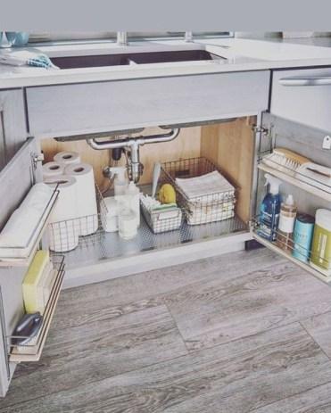 Functional-under-sink-kitchen-storage-design