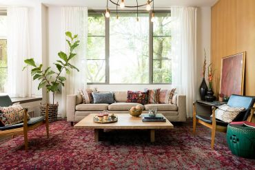 Beautiful-rug-makes-plenty-of-visual-impact-in-this-colorful-modern-eclectic-living-room-25519