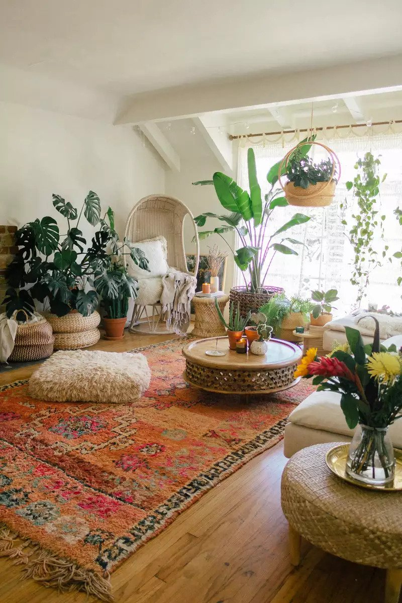 The Easiest Ways To Get A Bohemian Vibe In Your Living Room
