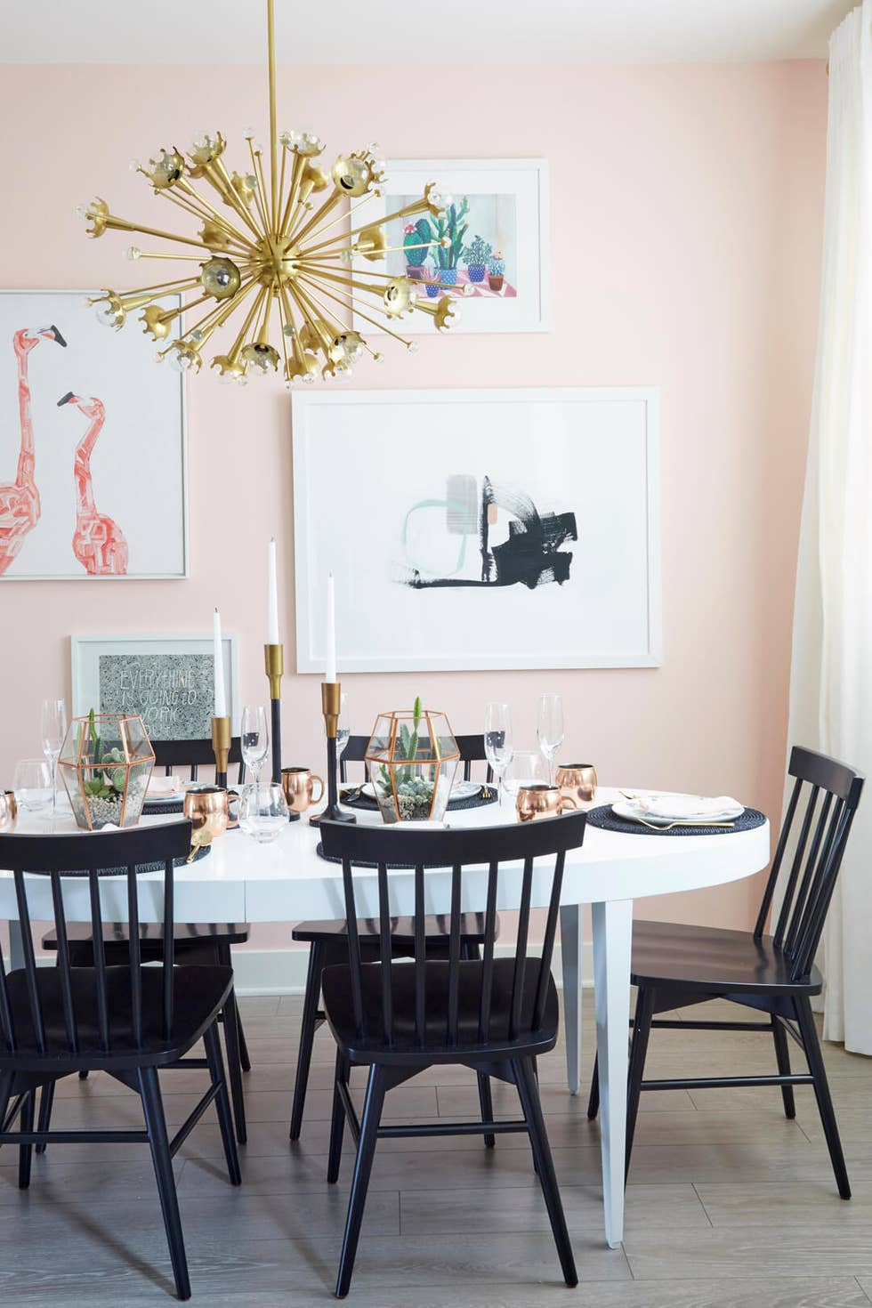 The Color Choice Ideas for Minimalist Dining Room Design