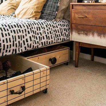 Bedroom-organization-tips-under-bed-storage