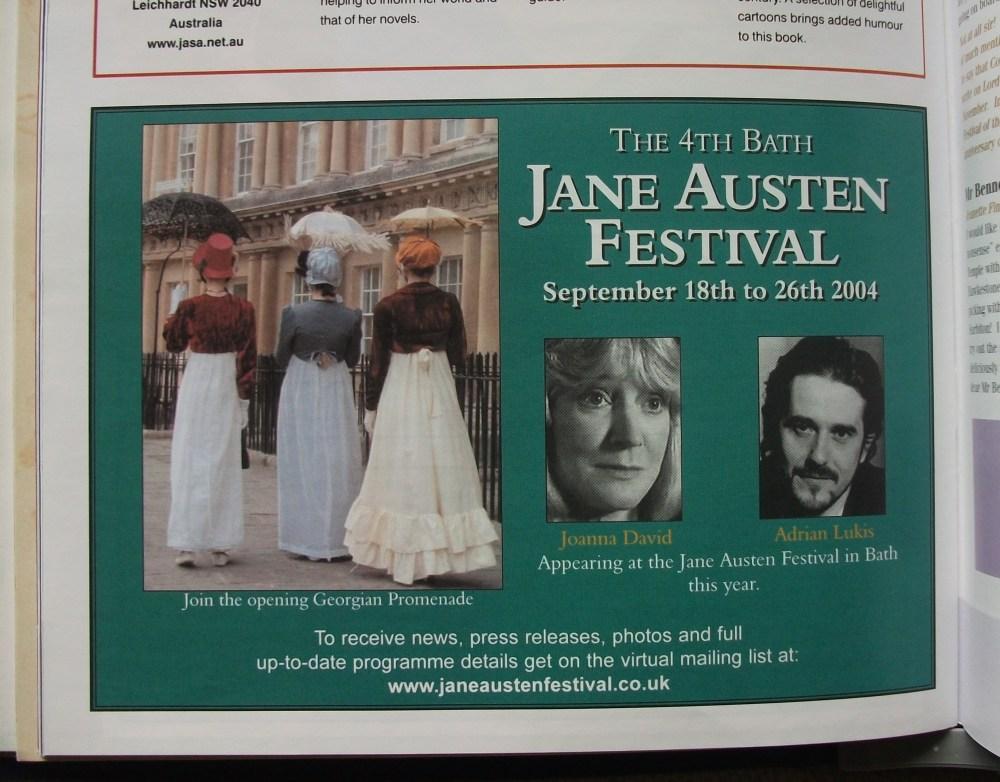 The Jane Austen Festival, Bath (2/6)