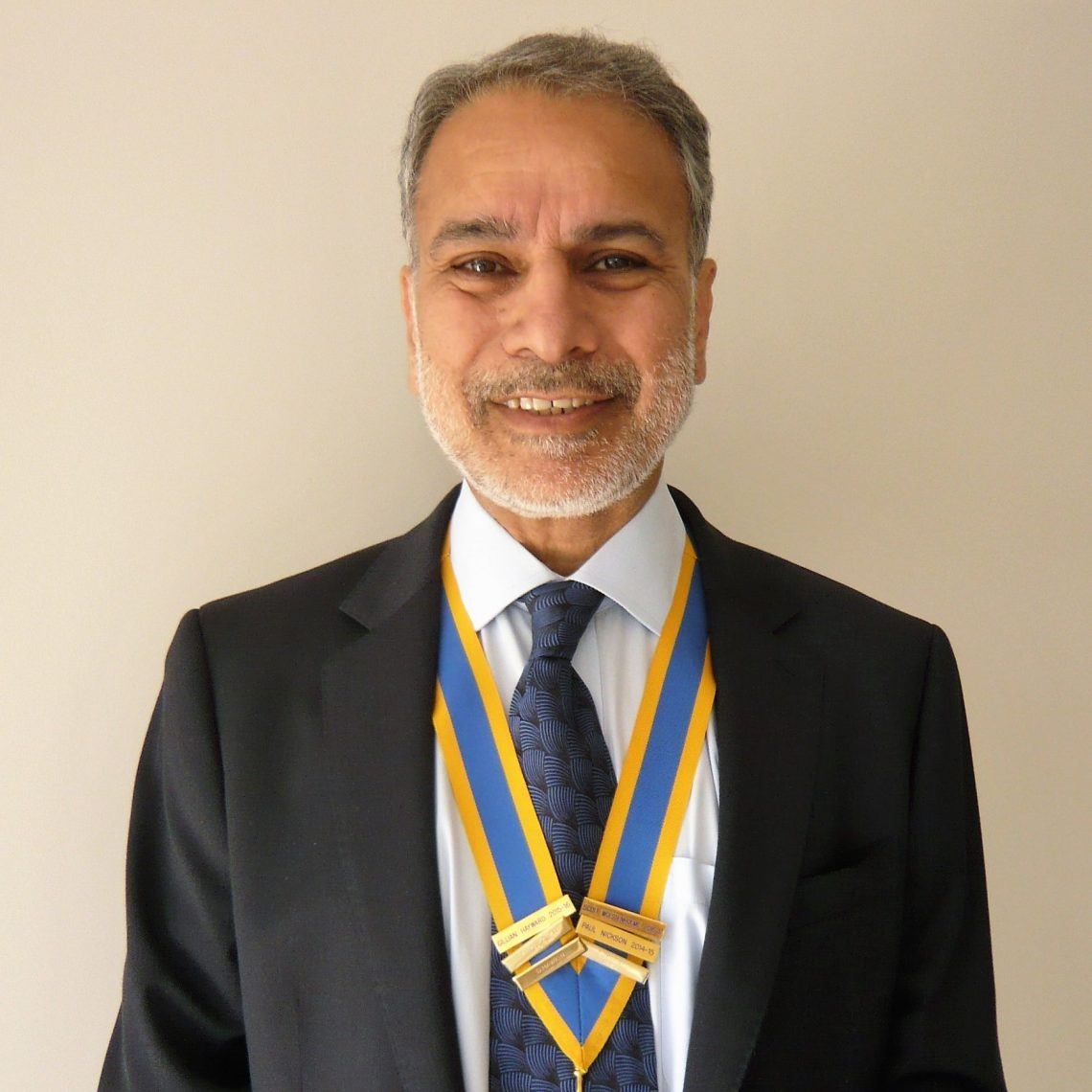 A welcome message from president Gurminder Singh