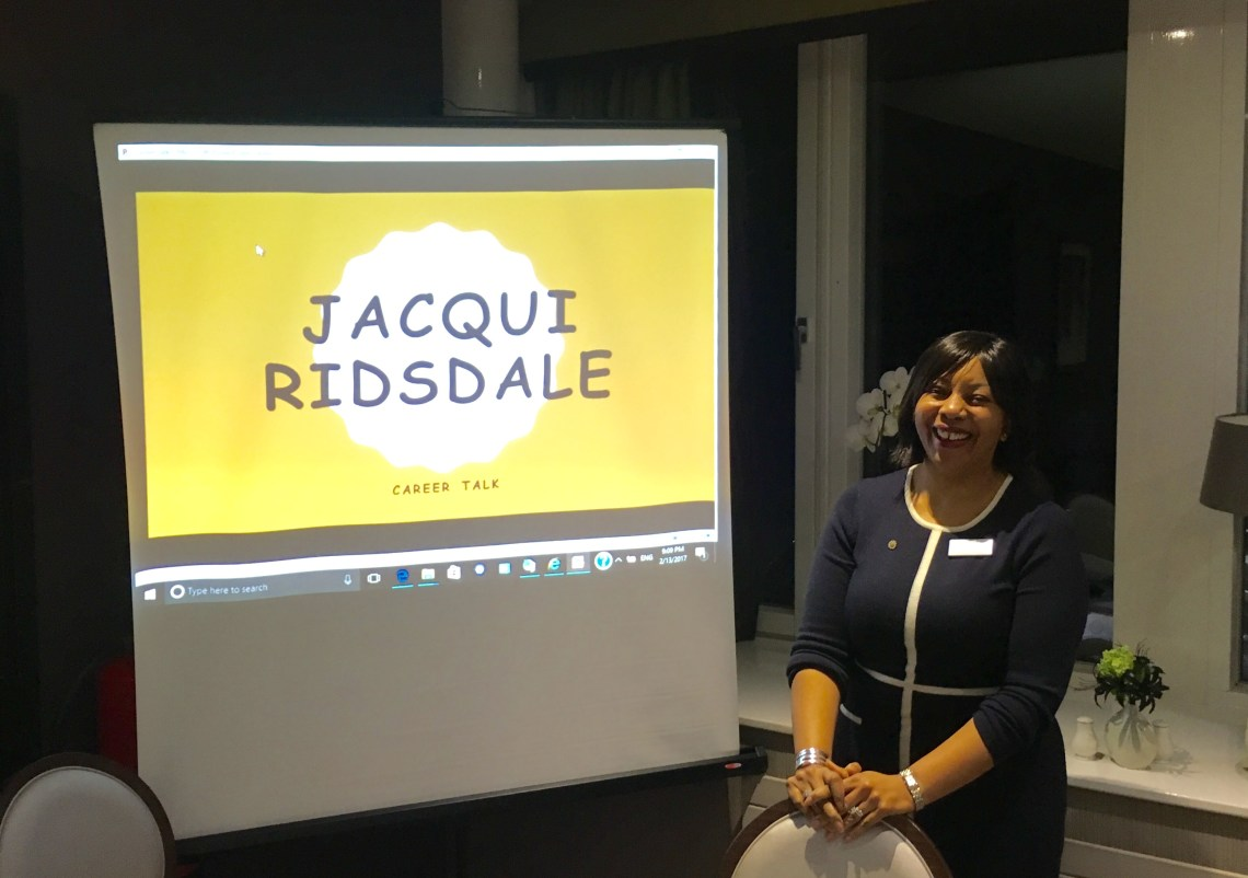 Jacqui Ridsdale's Job Talk presentation