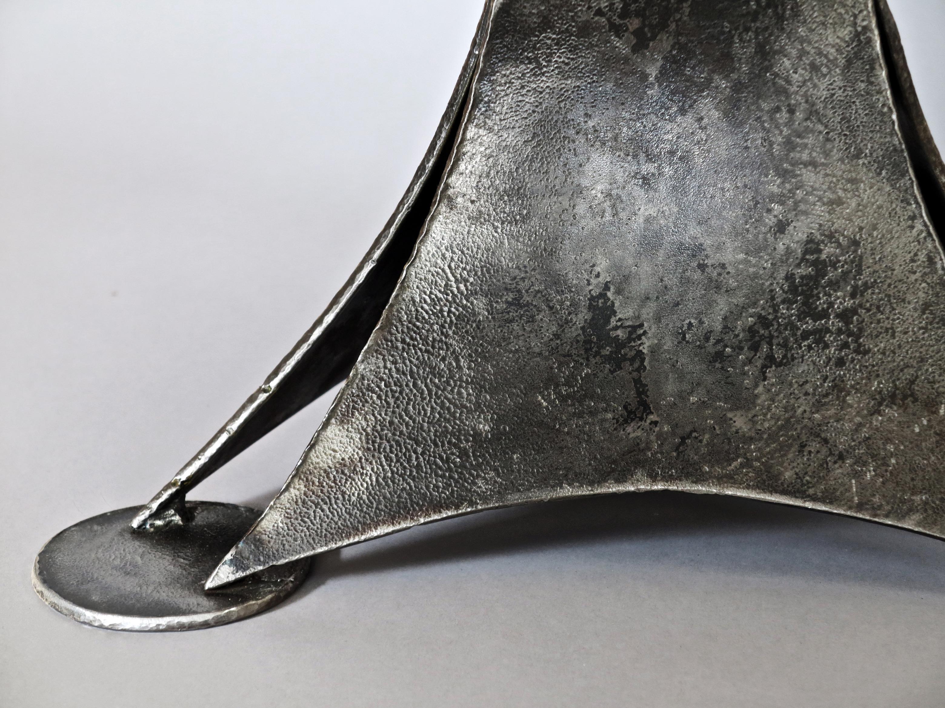 Eric Dennis forged iron table blacksmith