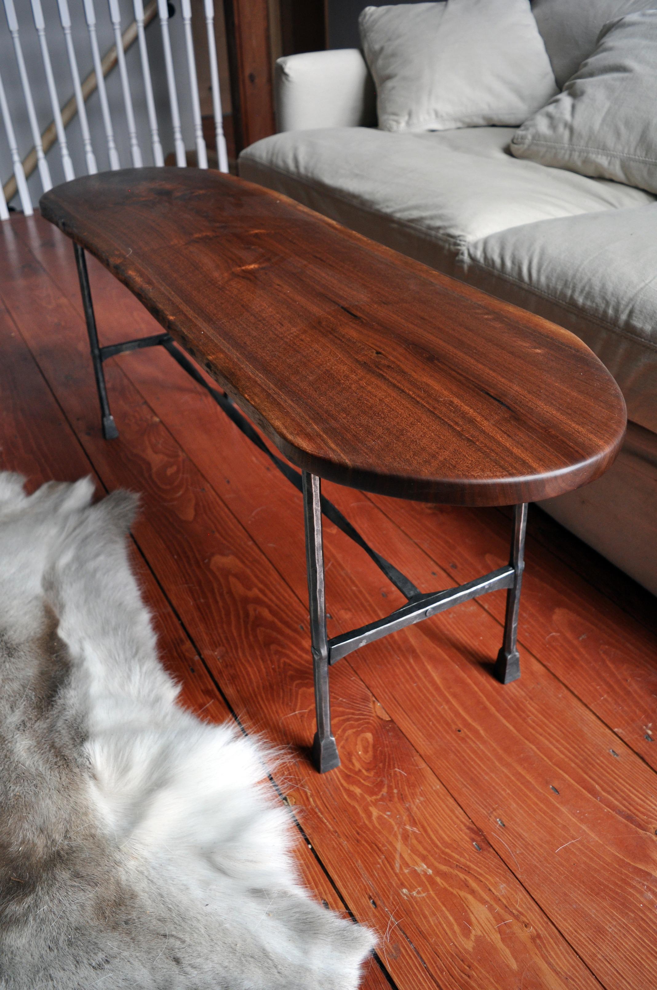 Eric Dennis Holzapfel Blacksmith Iron Table