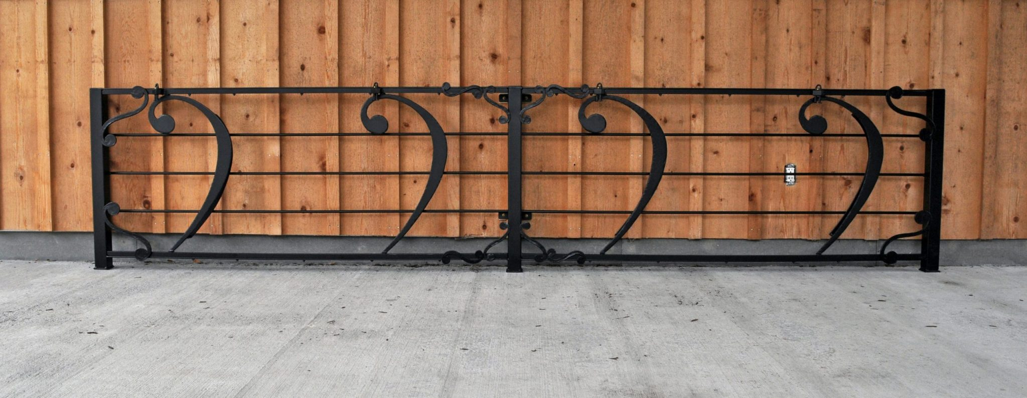 Fabricated Decorative Bike Rack