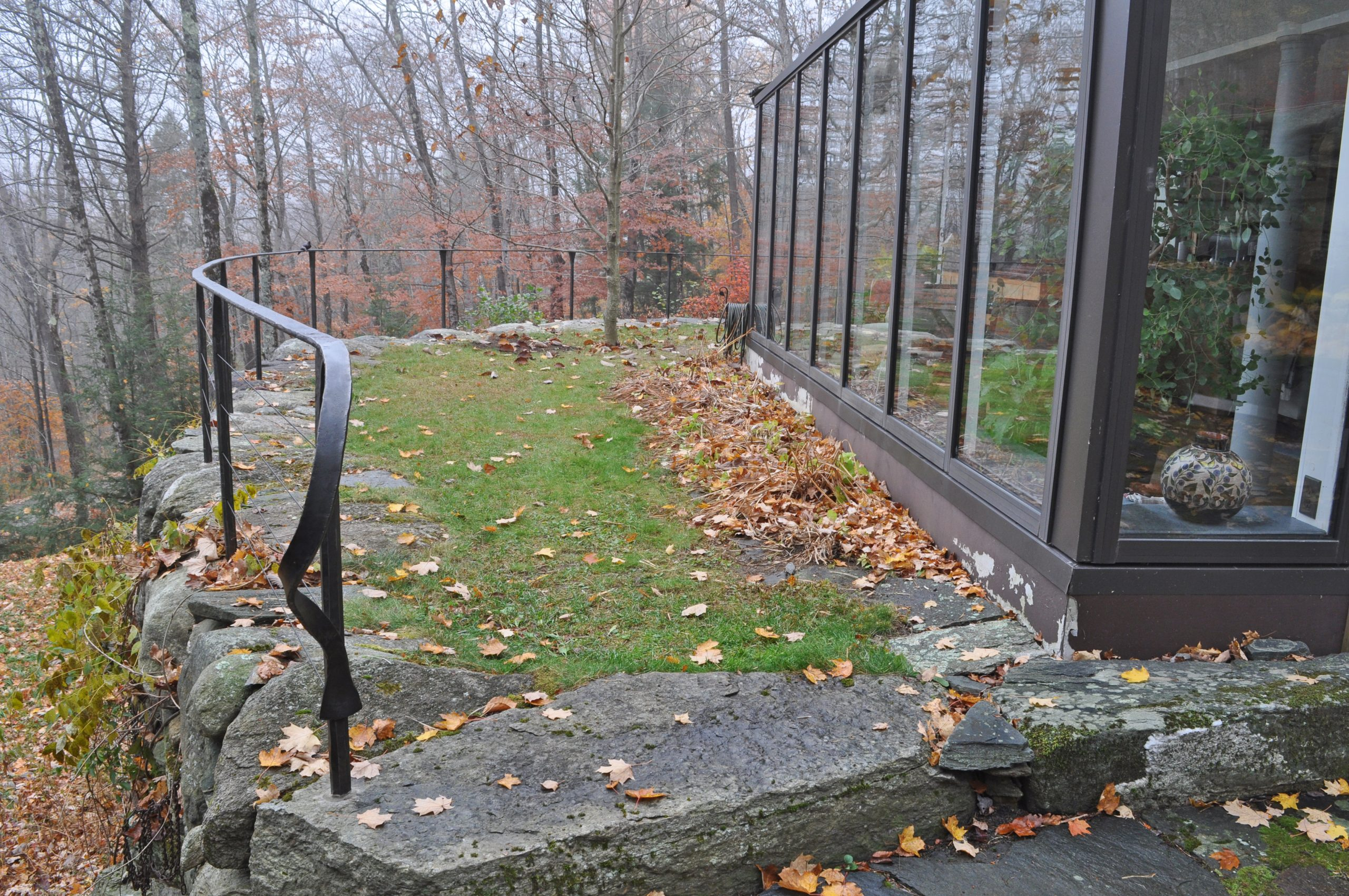 Forged Steel wire guard rail