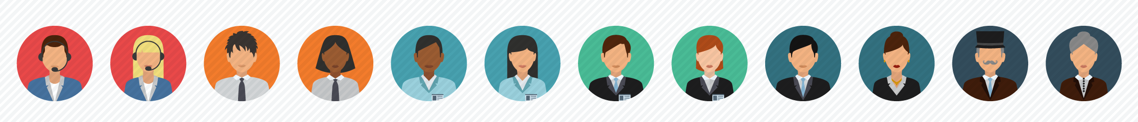 People_Business flat icons