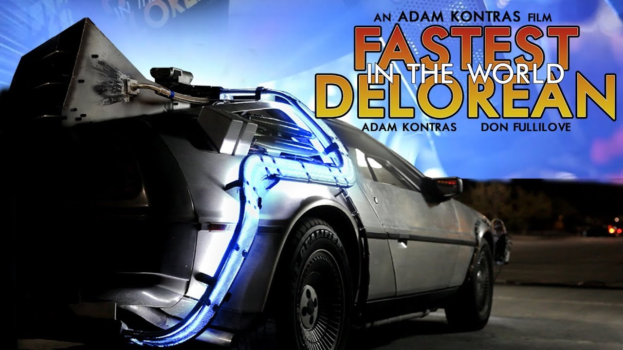 You Built A 12 Second Car From A Delorean The Round