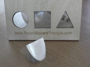 Round Square Triangle & card