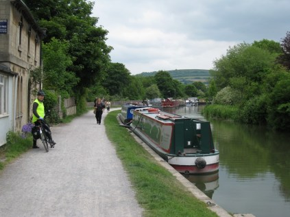 Kennet & Avon Canal outside Bath