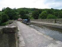 Crossing the Dundas Aqueduct
