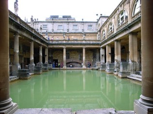A dip in the Roman Baths maybe?