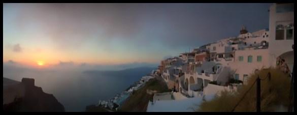 Sunset from Imerovigli.