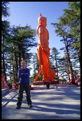 Hanuman and James