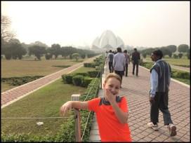 Delhi - The Lotus Temple (Baha'i)