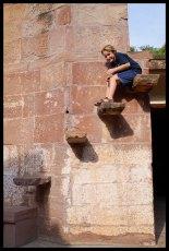 Jodhpur - Goofin at the Fort