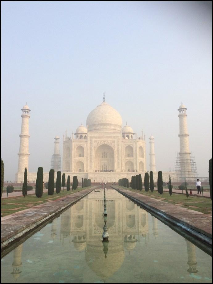 Agra - The photo I took of the Taj!!