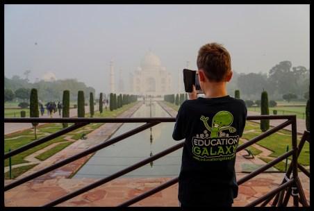 Agra - the Taj Mahal