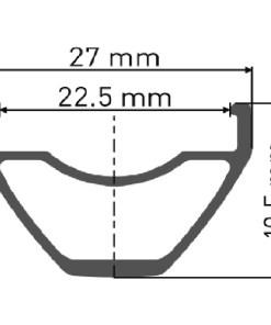 DT Swiss M 442 MTB Rim
