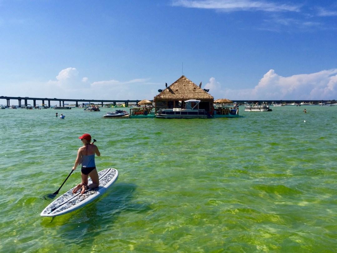 Crab Island Destin Florida Round Trip Travel