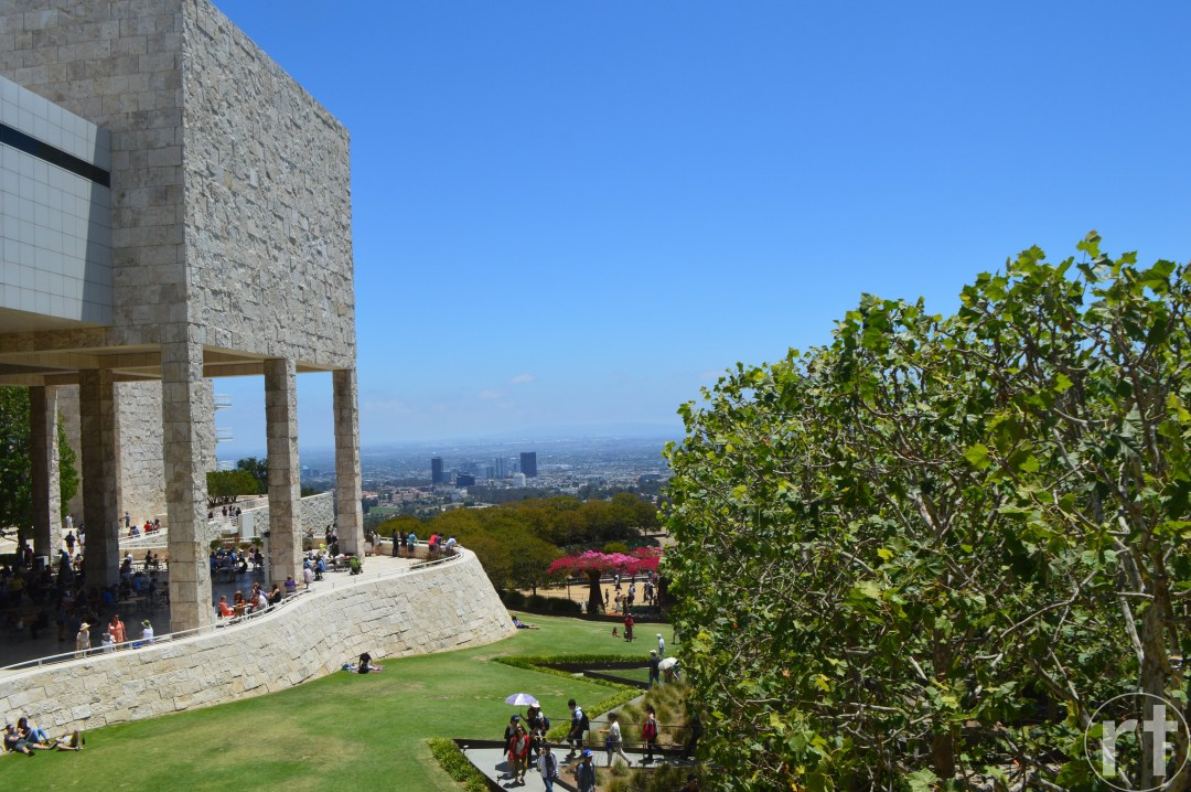 Getty Center Los Angeles Pano