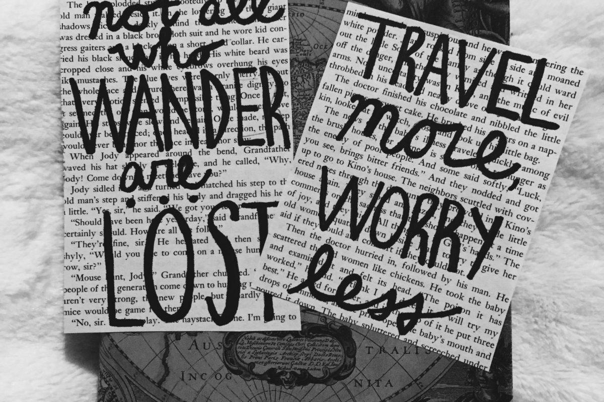 DIY Travel Prints Wanderlust by Round Trip Travel