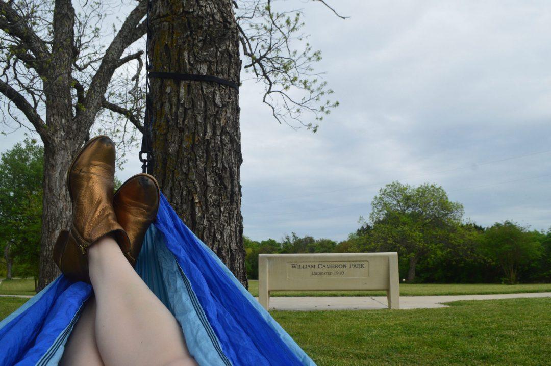 Eno Hammock Cameron Park Waco Texas Travel