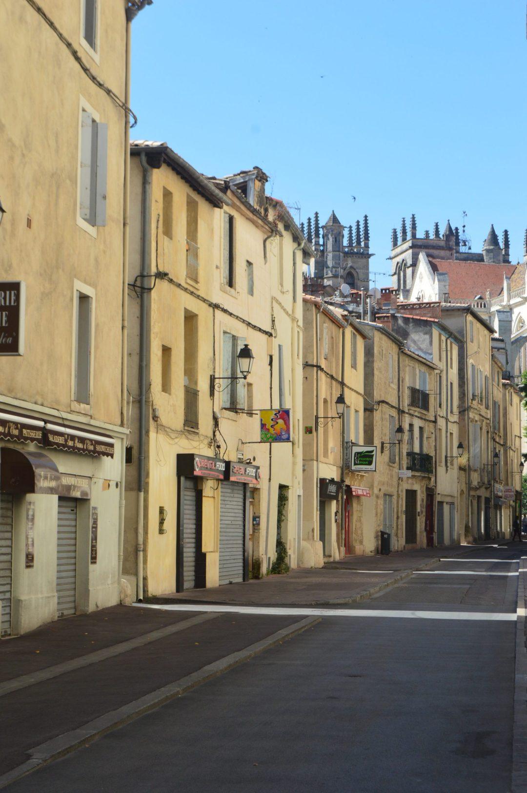 Les rues montpellier france