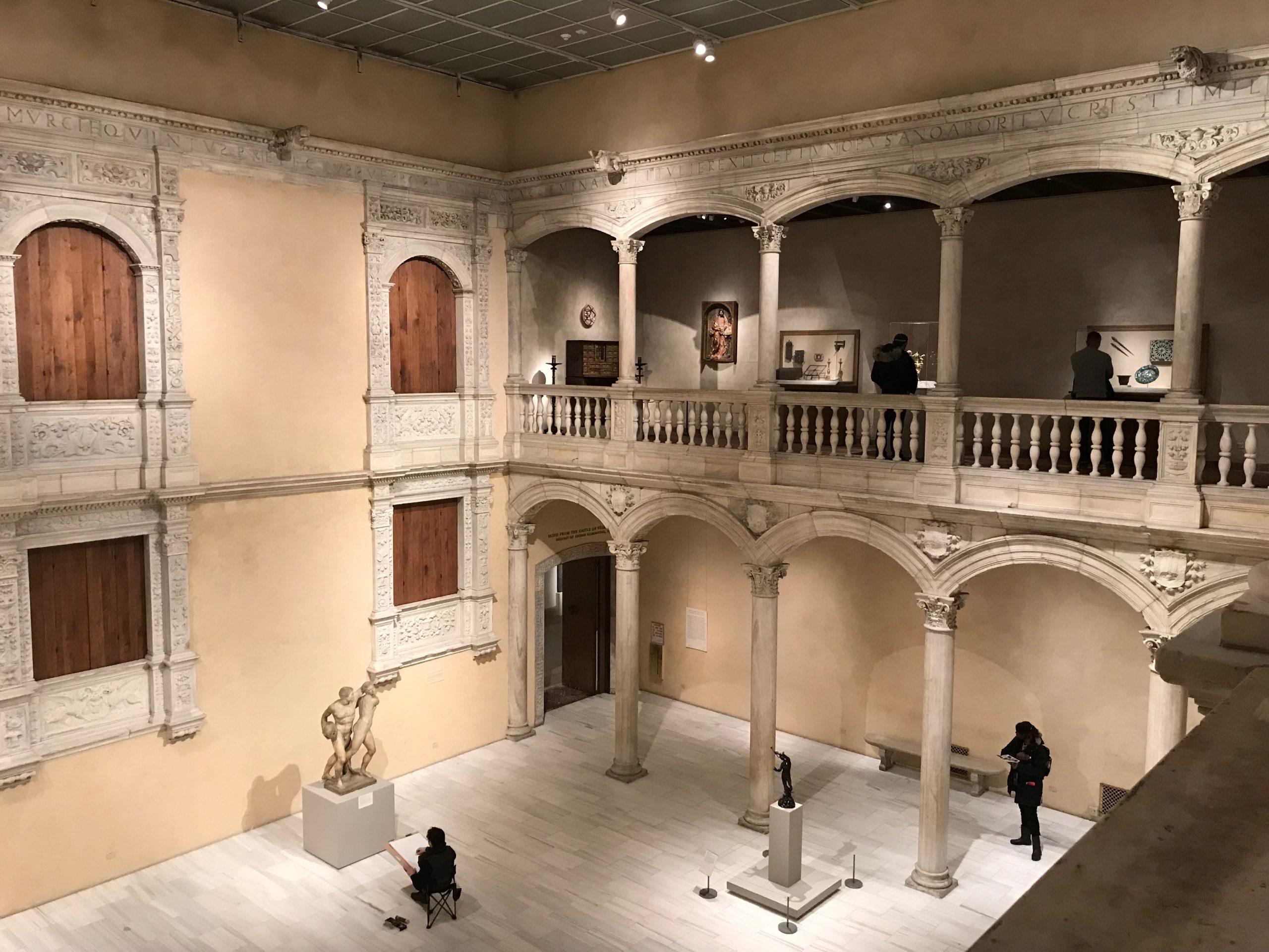 Metropolitan Museum of Art the Met Architecture Statue NYC