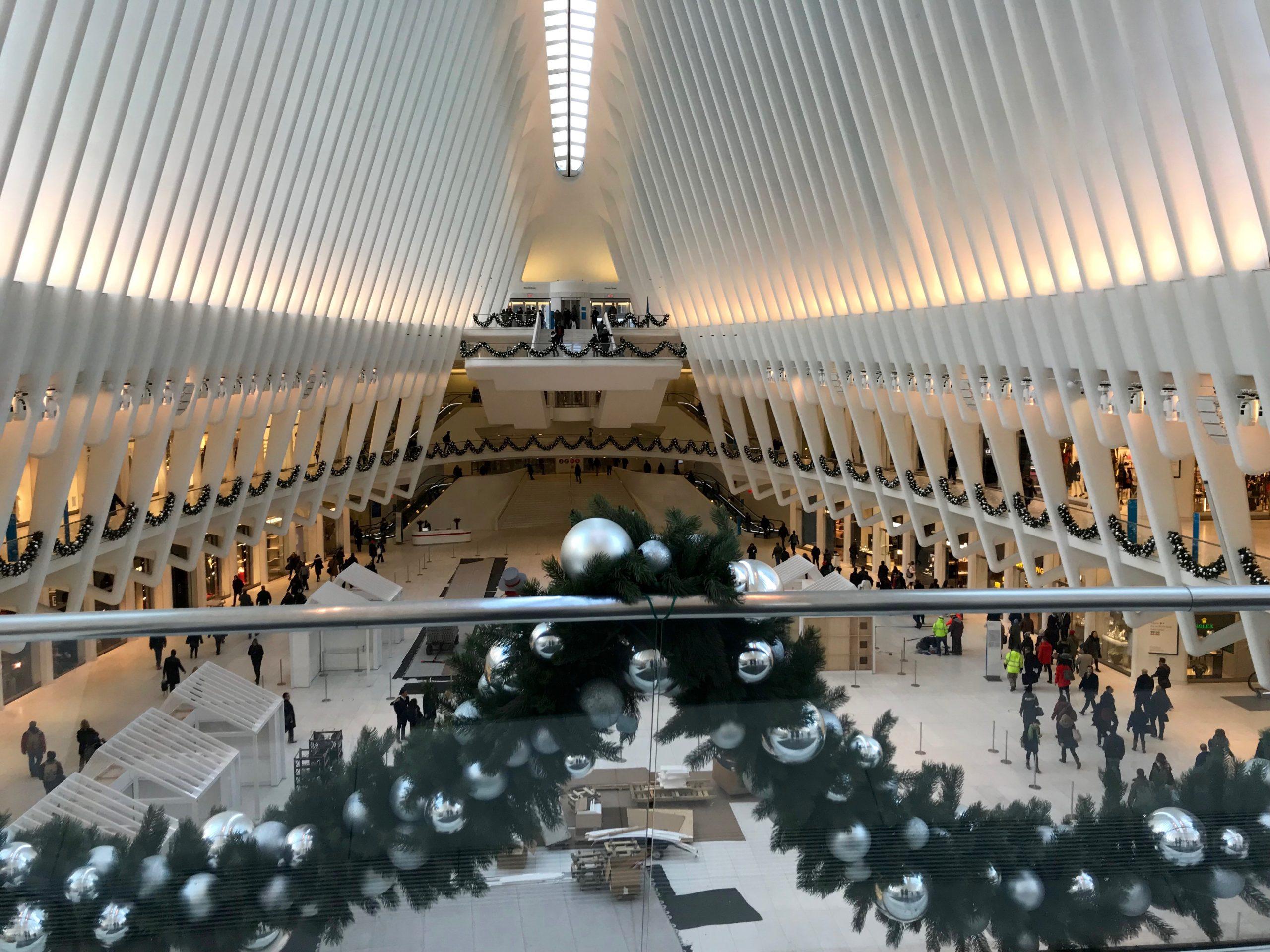Oculus Mall Shopping New York City Travel