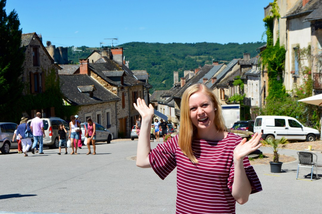 Najac France Castle French Village Travel