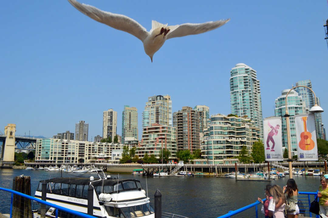 Granville Island City View Vancouver