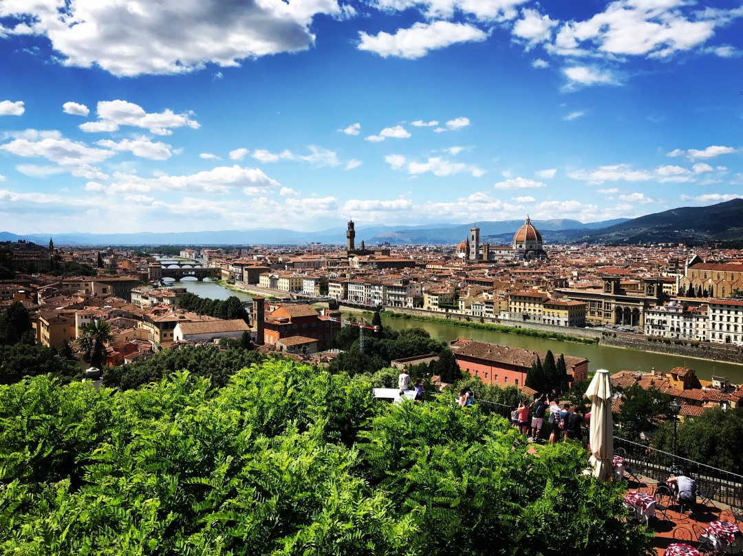 Piazzale Michelangelo Florence Firenze Italy