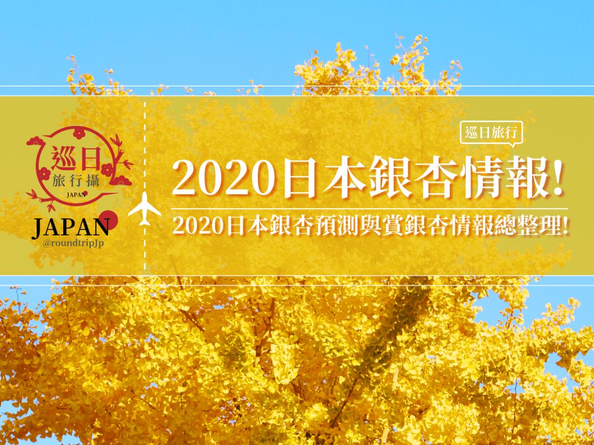 2020日本銀杏預測 | 巡日旅行攝 | RoundtripJp