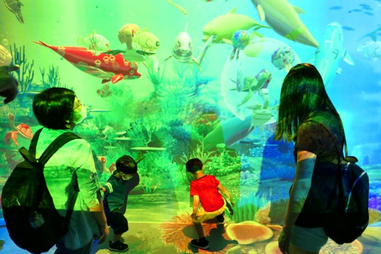 虛實互動 Interactive Zone | Xpark | Zone 7 | Taiwan | RoundtripJp