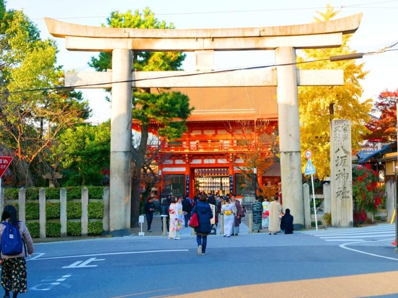 銀杏 | やさかじんじゃ | 八坂神社 | 京都 | 近畿(關西) | 日本 | 巡日旅行攝