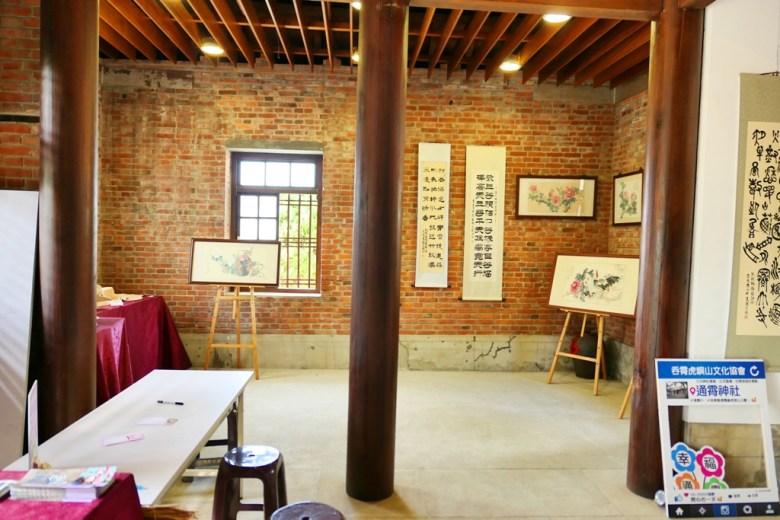 通霄神社拜殿內 | 藝文展示空間 | Tongxiao | Miaoli | Taiwan | RoundtripJp