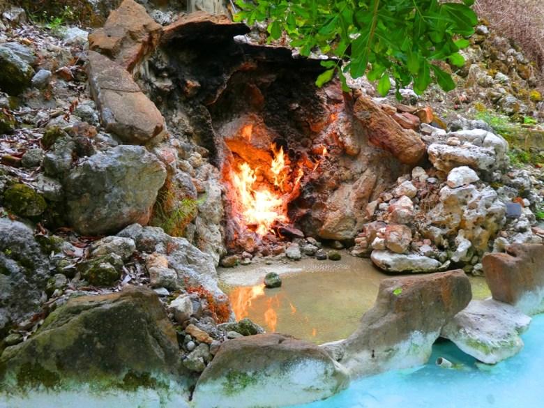 水火同源 | 青い池與赤の火 | Water and Fire homogeny | Baihe District | Tainan | Wafu Taiwan | RoundtripJp