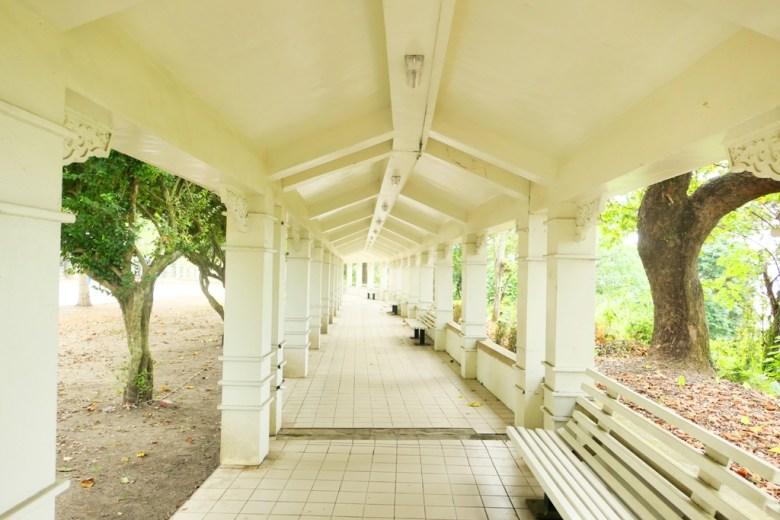 白色迴廊內 | 綿延不絕的白色夢幻 | 網美打卡景點 | 婚攝隱藏拍攝景點 | 竹山 | 南投 | 臺灣 | 巡日旅行攝