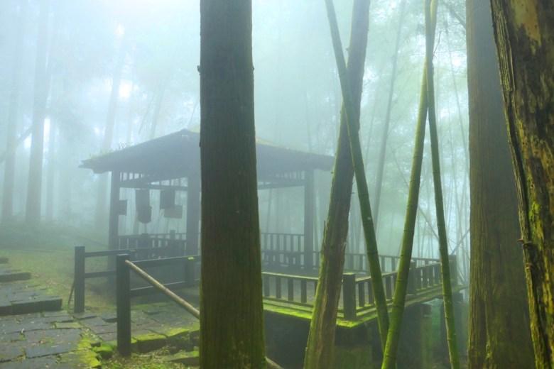 古亭 | 奮起步道 | 清幽霧氣 | 奮起湖 | 阿里山 | 嘉義 | 臺灣 | 巡日旅行攝